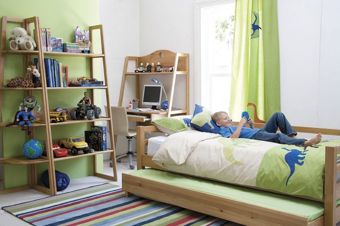 Mini-library-design-for-kids.-675x450 15 Simple Décor Tips to Make Your Kids' Room Look Attractive