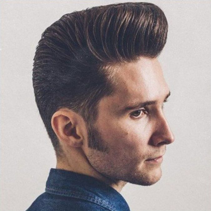 Pompadour-haircut-675x675 10 Best 2019 Men's Haircuts According to Face Shape