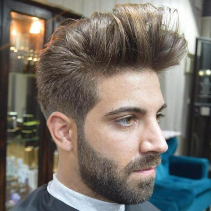 Quiff-haircut-2-675x675 10 Best Men's Haircuts According to Face Shape in 2020