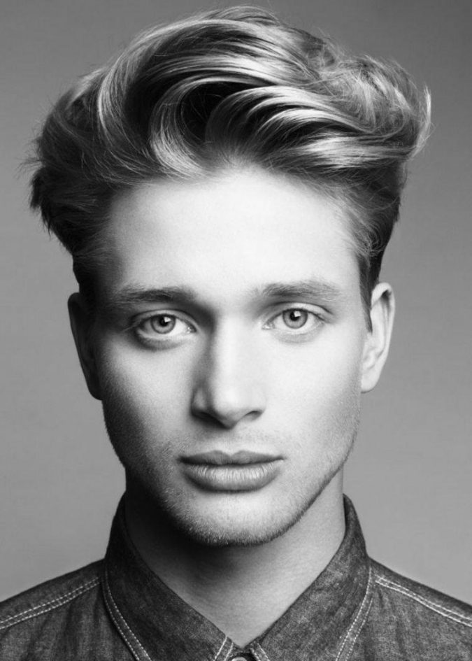 Quiff-haircut-4-675x945 10 Best Men's Haircuts According to Face Shape in 2020