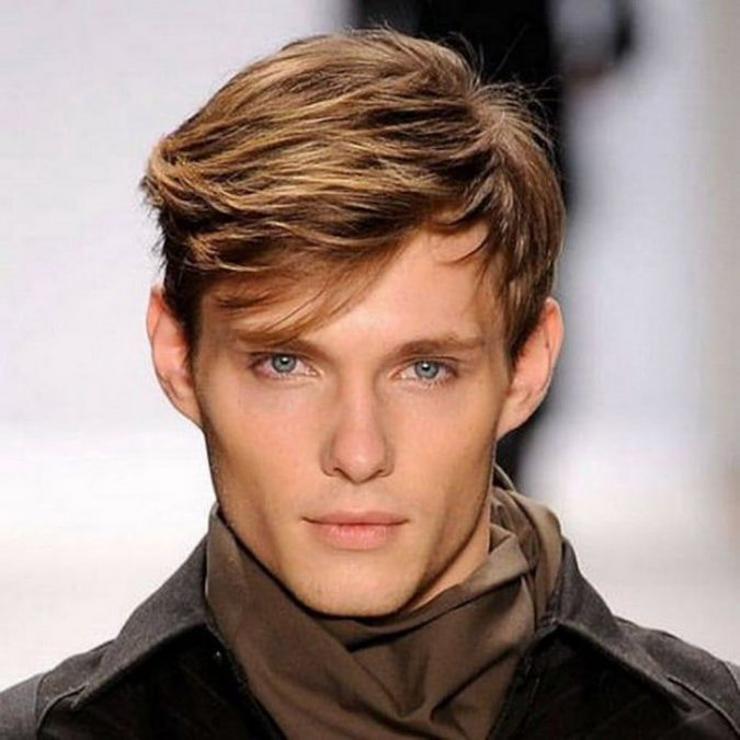 Side-swept-fringe-haircut-men-675x675 10 Best 2019 Men's Haircuts According to Face Shape