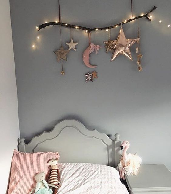 String-lights-for-kids. 15 Simple Décor Tips to Make Your Kids' Room Look Attractive