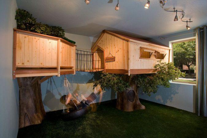 Tree-house-bedroom-design-675x450 15 Simple Décor Tips to Make Your Kids' Room Look Attractive
