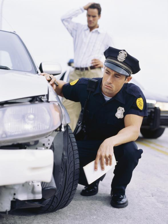 auto-accident-police What Happens If Someone Sues You after a Car Accident?