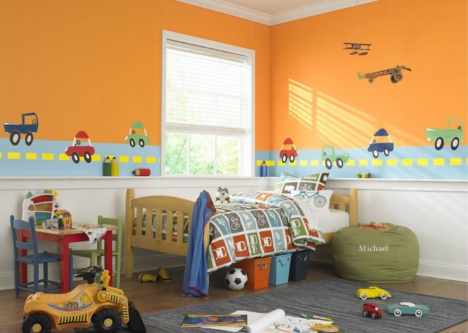 beautiful-kids-bedroom-paint-ideas-675x480 15 Simple Décor Tips to Make Your Kids' Room Look Attractive