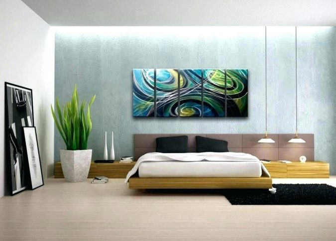 bedroom-decor-artwork-2-675x484 20 Cheapest Bedroom Ideas to Make Your Space Look Expensive