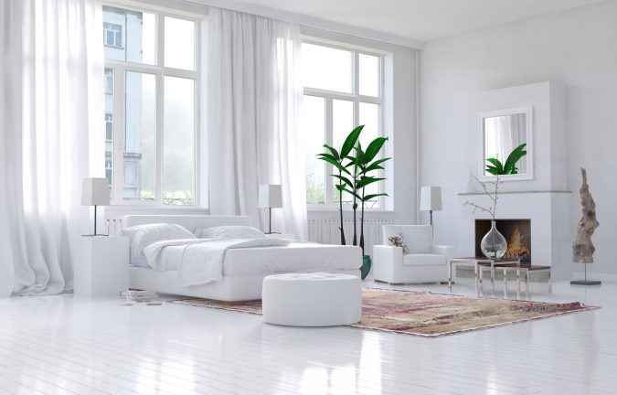 bedroom-decor-greenary-675x432 9 Important Things to Remember When Decorating Your Bedroom