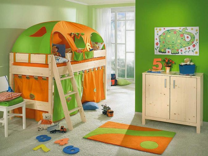 calming-colors-for-childrens-bedroom-1-675x506 15 Simple Décor Tips to Make Your Kids' Room Look Attractive
