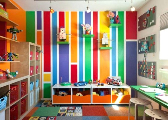 colorful-kids-bedroom-2-675x484 15 Simple Décor Tips to Make Your Kids' Room Look Attractive