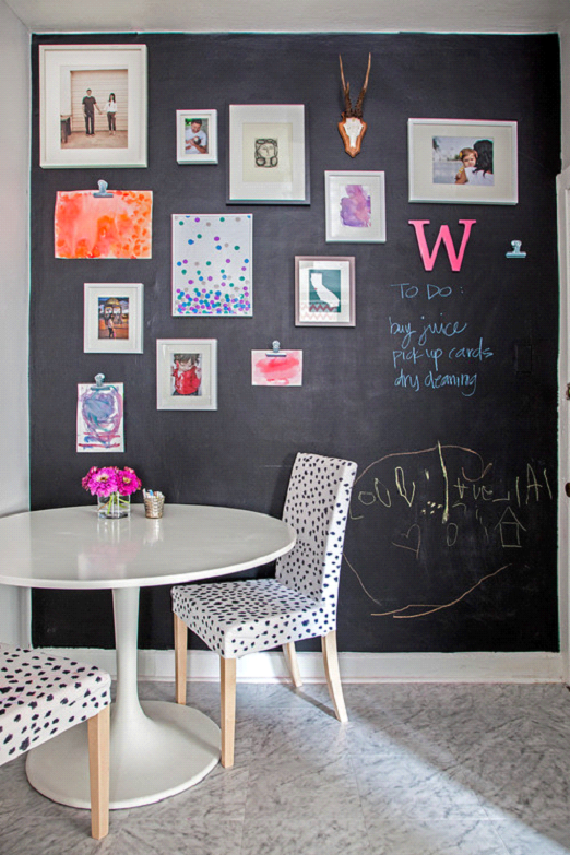 decor-blackboard-wall Top 18 Creative Kitchen Decoration Tricks No One Told You About