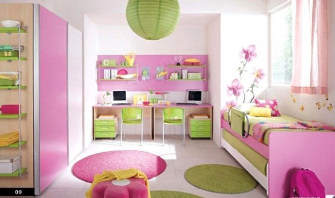 girls-bedroom-1-675x399 15 Simple Décor Tips to Make Your Kids' Room Look Attractive