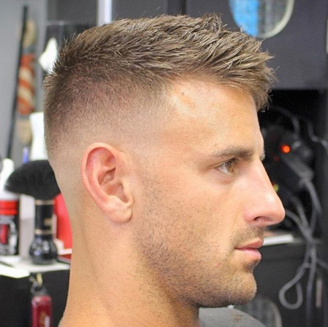 high-fade-crew-haircut-e1550254063558-675x673 10 Best 2019 Men's Haircuts According to Face Shape