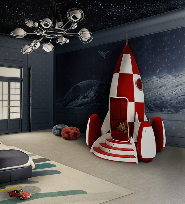 kids-rocket-chair 15 Simple Décor Tips to Make Your Kids' Room Look Attractive