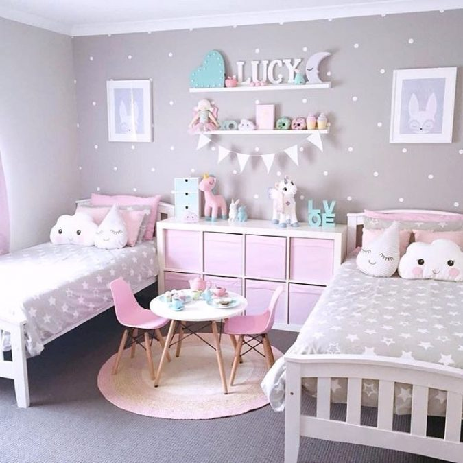 kids-room-paint-colors-awesome-kids-bedroom-decorating-ideas-675x675 15 Simple Décor Tips to Make Your Kids' Room Look Attractive