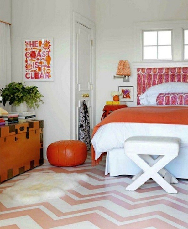 kids-room-with-painted-floor-1 15 Simple Décor Tips to Make Your Kids' Room Look Attractive