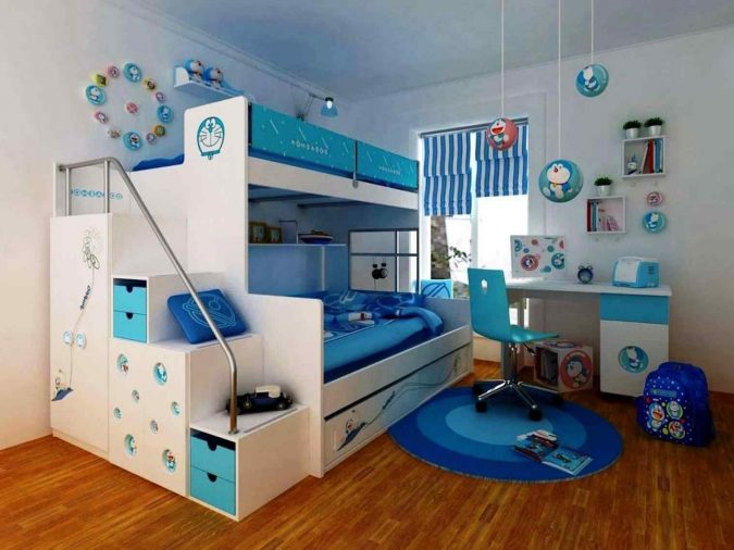 kids-rooms-designs-675x506 15 Simple Décor Tips to Make Your Kids' Room Look Attractive