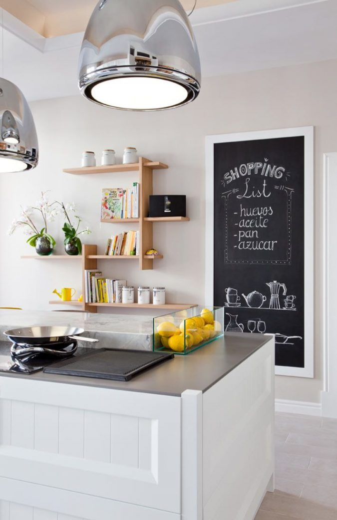 kitchen-decor-blackboard-wall-675x1040 Top 18 Creative Kitchen Decoration Tricks No One Told You About