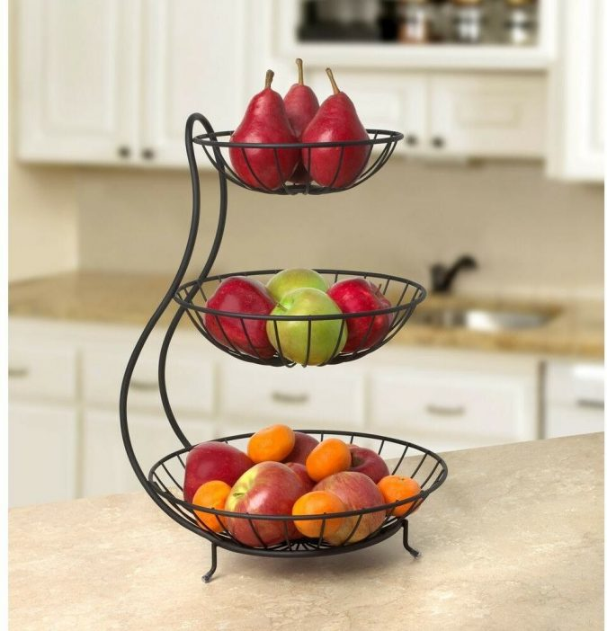 kitchen-decor-fruits-stand-675x702 Top 18 Creative Kitchen Decoration Tricks No One Told You About