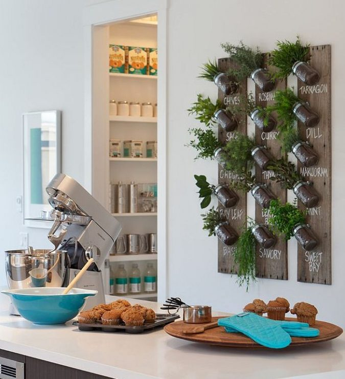 kitchen-decor-planted-fresh-herbs-675x741 Top 18 Creative Kitchen Decoration Tricks No One Told You About