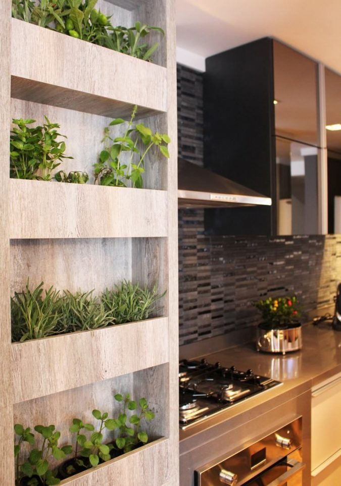 kitchen-decor-planted-herbs-2-675x963 Top 18 Creative Kitchen Decoration Tricks No One Told You About