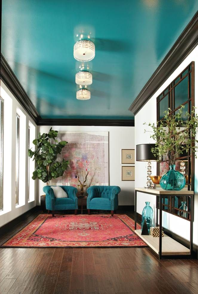living-room-accent-ceiling Best 14 Tips to Follow When Planning a Small Living Room