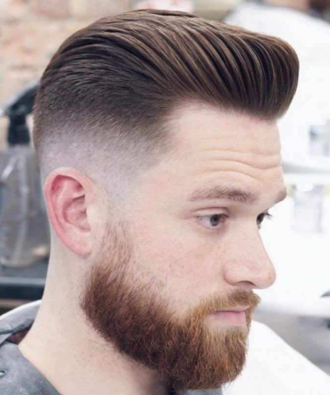 mens haircut pompadour e1550252783479 675x808 10 best 2019 men s haircuts according to