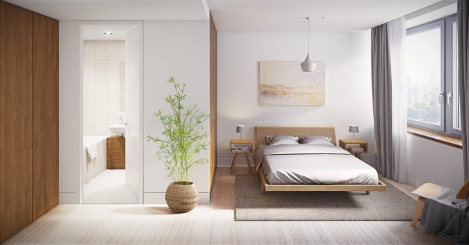 minimalist-bedroom-design-675x353 20 Cheapest Bedroom Ideas to Make Your Space Look Expensive