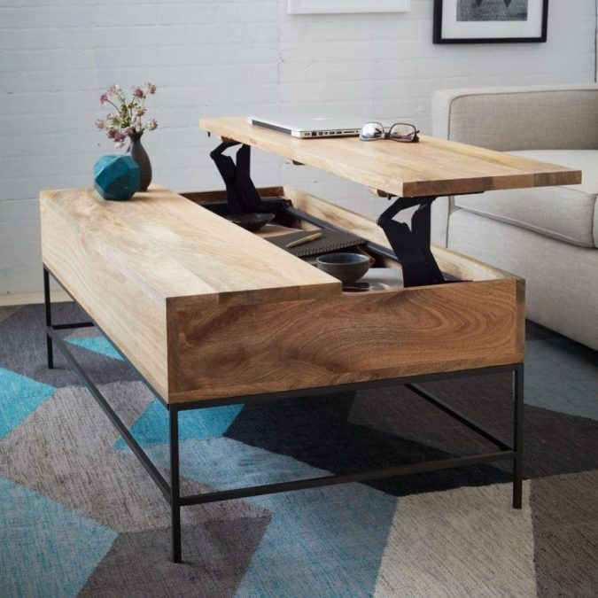 small-living-room-Multifunctional-table-675x675 Best 14 Tips to Follow When Planning a Small Living Room