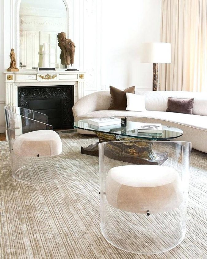 small-living-room-with-plexiglass-furniture-675x844 Best 14 Tips to Follow When Planning a Small Living Room