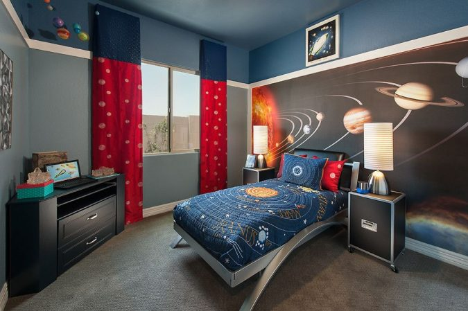 space-kid-room-675x449 15 Simple Décor Tips to Make Your Kids' Room Look Attractive