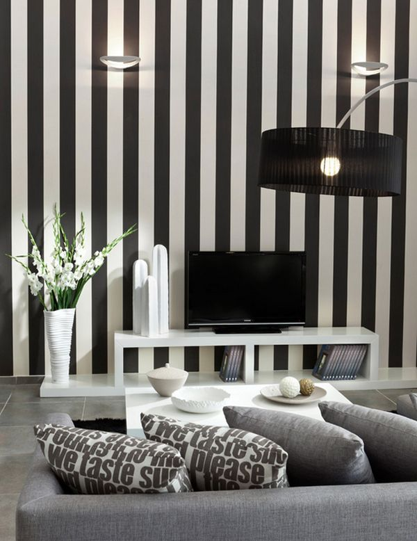 striped-living-room Best 14 Tips to Follow When Planning a Small Living Room
