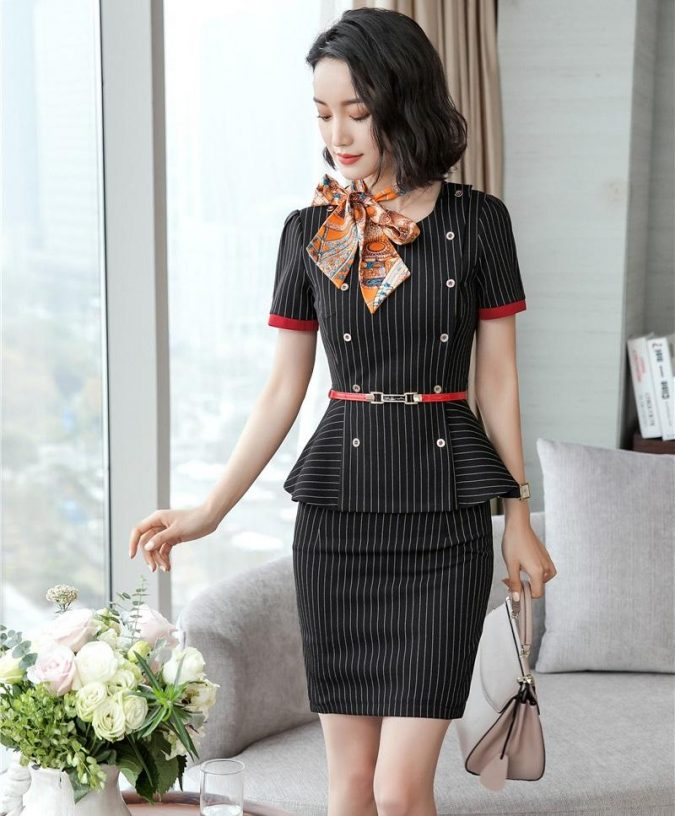 summer-outfit-women-business-suit-675x816 80+ Elegant Summer Outfit Ideas for Business Women