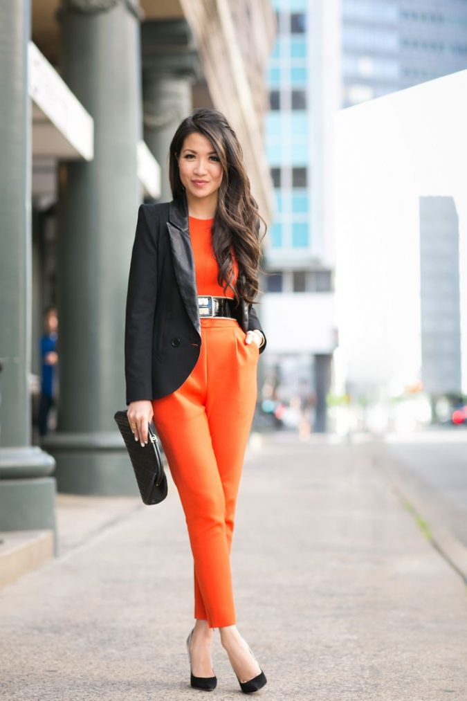 summer-work-outfit-jumpsuit-675x1013 80+ Elegant Summer Outfit Ideas for Business Women