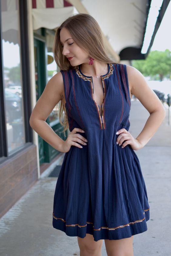 women-outfit-boho-dress 80+ Elegant Summer Outfit Ideas for Business Women