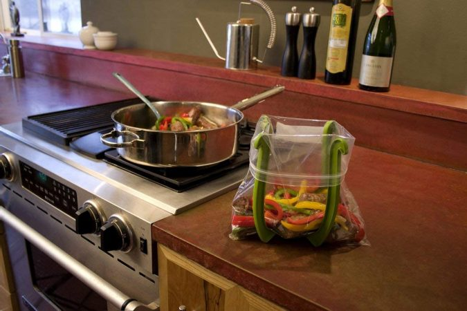 Bags-holder-stand-kitchen-tools-2-675x450 24 Innovative Kitchen Tools You Should Get Today