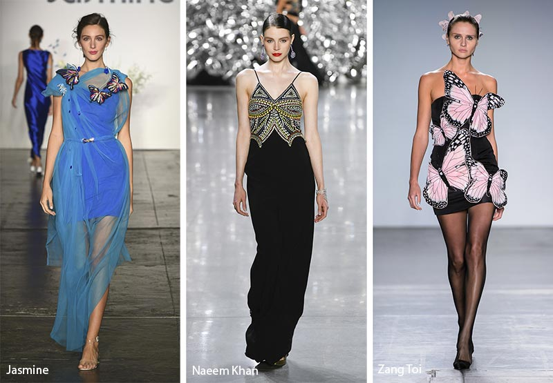 Butterfly-designs 20 Most Stylish Female Celebrities Fashion Trends 2020