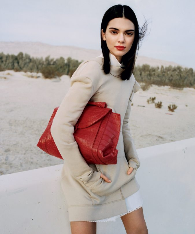 Kendall-Jenner-in-neutral-look.-675x808 20 Most Stylish Female Celebrities Fashion Trends 2020