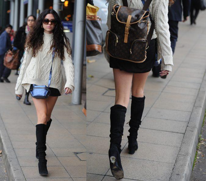 Louis-Vuitton.-675x594 20 Most Stylish Female Celebrities Fashion Trends 2020