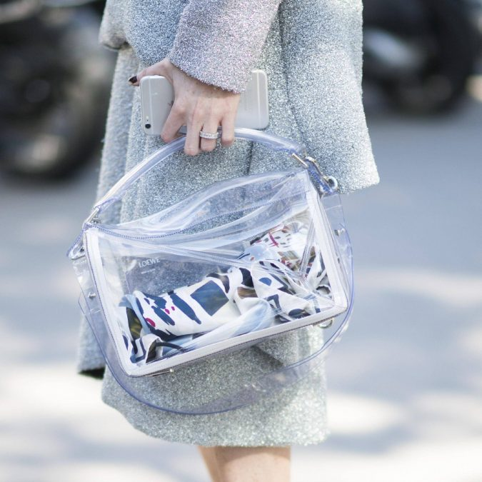 See-through-bags-675x675 20 Most Stylish Female Celebrities Fashion Trends 2019