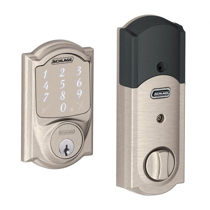 Smart-lock-Schlage-675x675 Newest 12 Smart Gadgets You Should Keep in Home