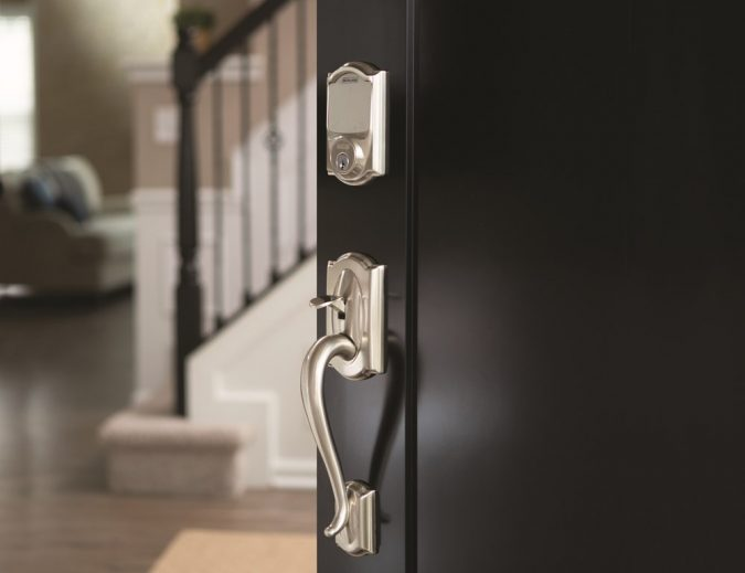 Smart-lock-Schlage-smart-home-675x519 Newest 12 Smart Gadgets You Should Keep in Home