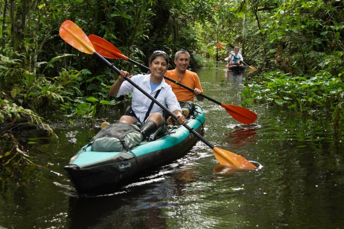 amazon-kayaking-tour-happy-couple-675x450 6 Types of Outdoor Travel Adventures to Experience
