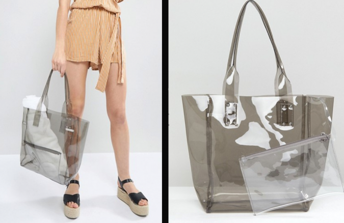 bag-clear-asos-675x438 20 Most Stylish Female Celebrities Fashion Trends 2019