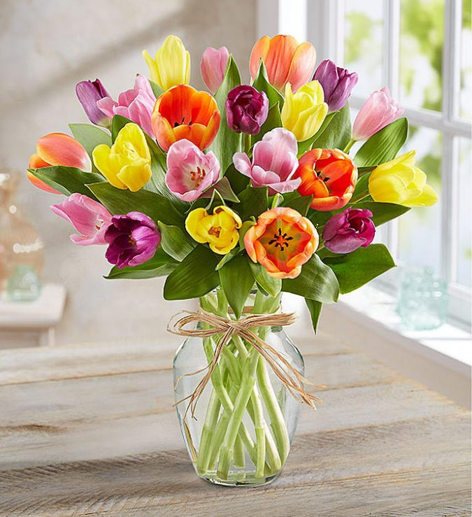 cut-flowers-tulips-675x739 How to Make Cut Flowers Last Longer?