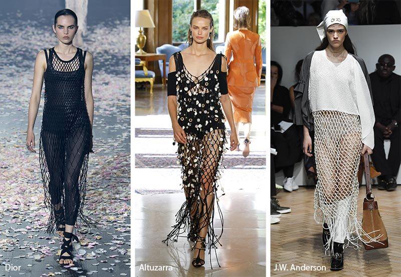 fishnet-trend 20 Most Stylish Female Celebrities Fashion Trends 2020