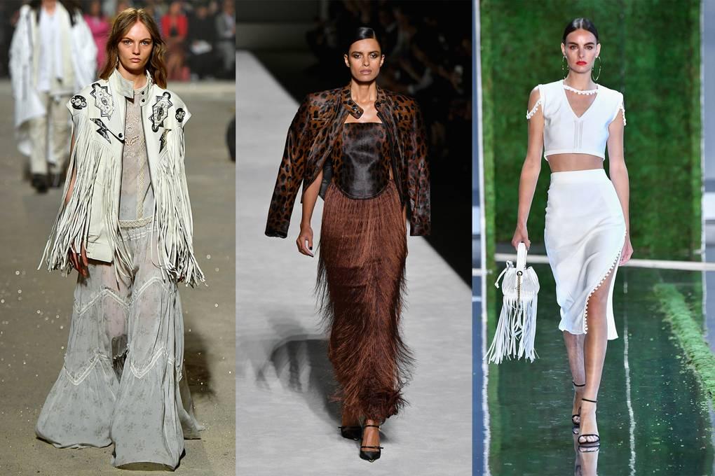fringing 20 Most Stylish Female Celebrities Fashion Trends 2020