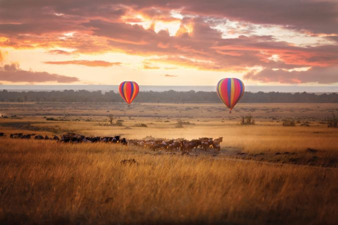 hot-air-balloon-kenya-safari-travel-675x450 6 Types of Outdoor Travel Adventures to Experience