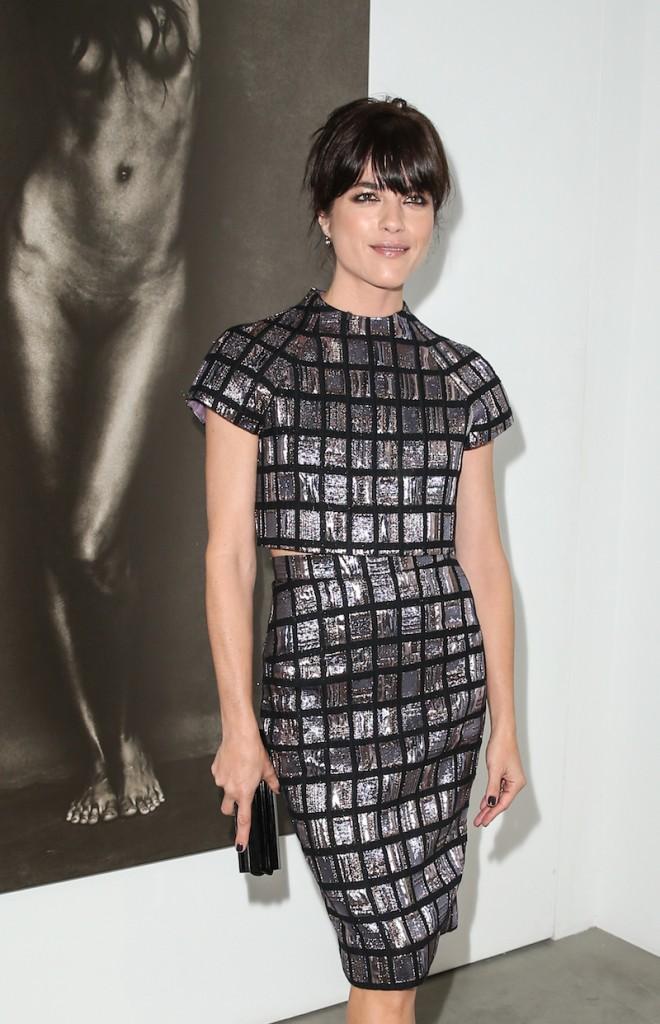 metallic-plaids 20 Most Stylish Female Celebrities Fashion Trends 2020