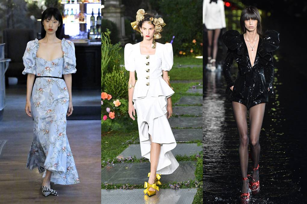puffed-shoulders 20 Most Stylish Female Celebrities Fashion Trends 2020