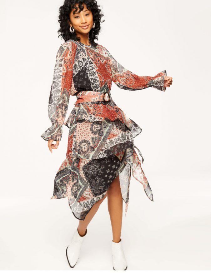 ruffled-dress-e1553523190439-675x874 10 Stunning Women Outfit Ideas